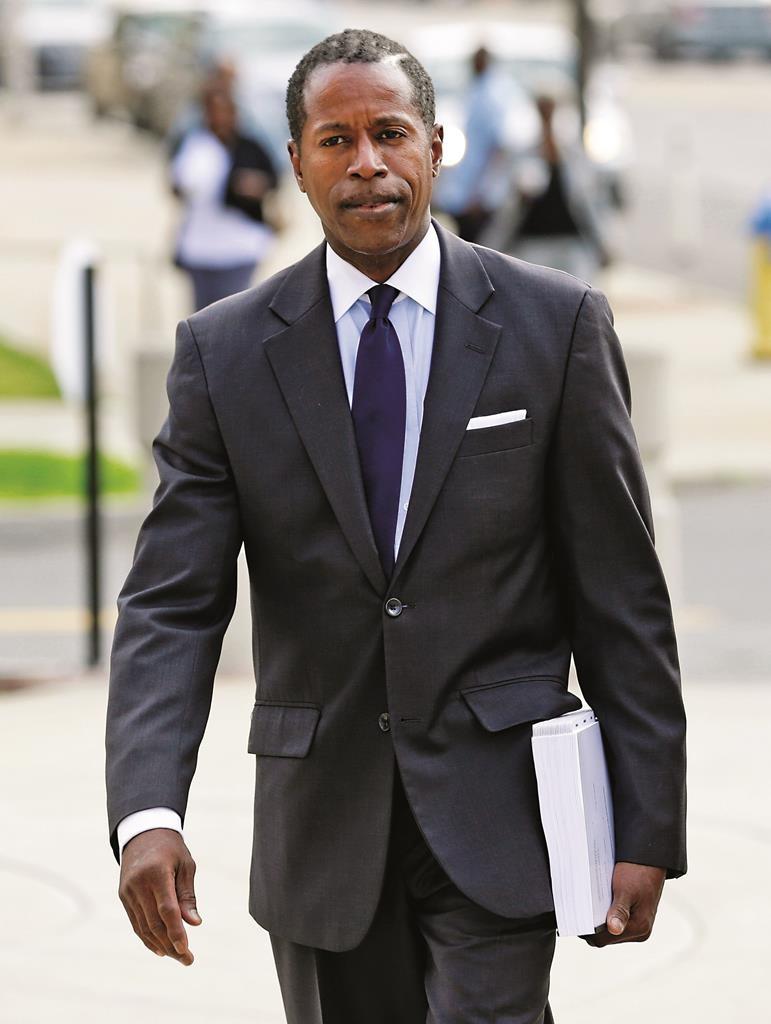 Former Democratic state Sen. Malcolm Smith. (AP Photo/Seth Wenig)