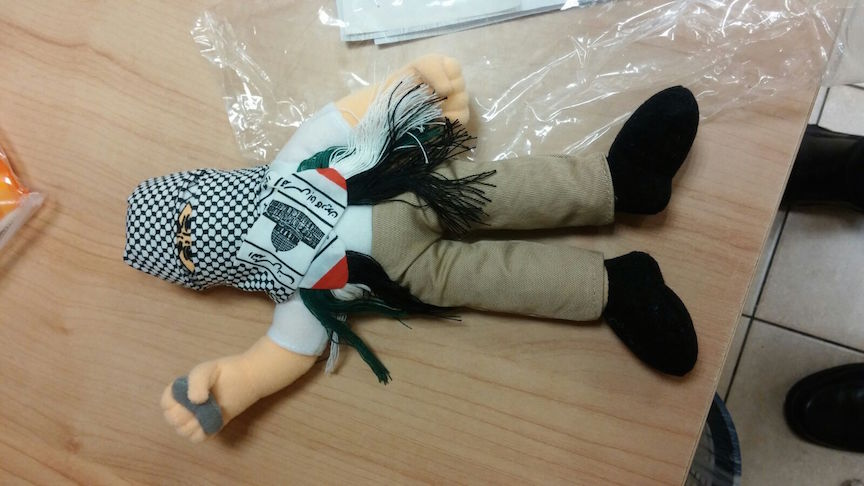 One of the dolls found by customs workers (Tax Authority)
