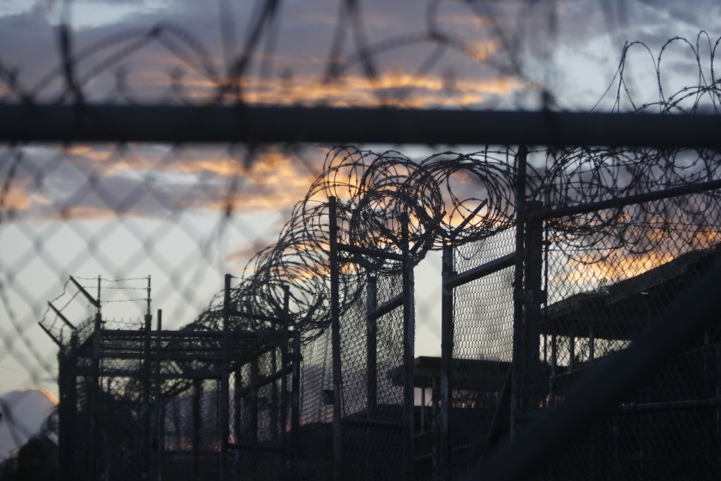 This Nov. 21, 2013 photo, reviewed by the U.S. military, shows the now-closed Camp X-Ray, which was used as the first detention facility for suspected terrorists captured after the 9/11 attacks, at the Guantanamo Bay Naval Base in Cuba. (AP Photo/Charles Dharapak, File)