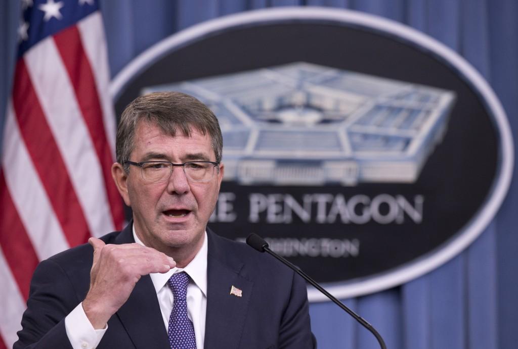 Defense Secretary Ash Carter speaking ast the Pentagon recently. (AP Photo/Manuel Balce Ceneta)