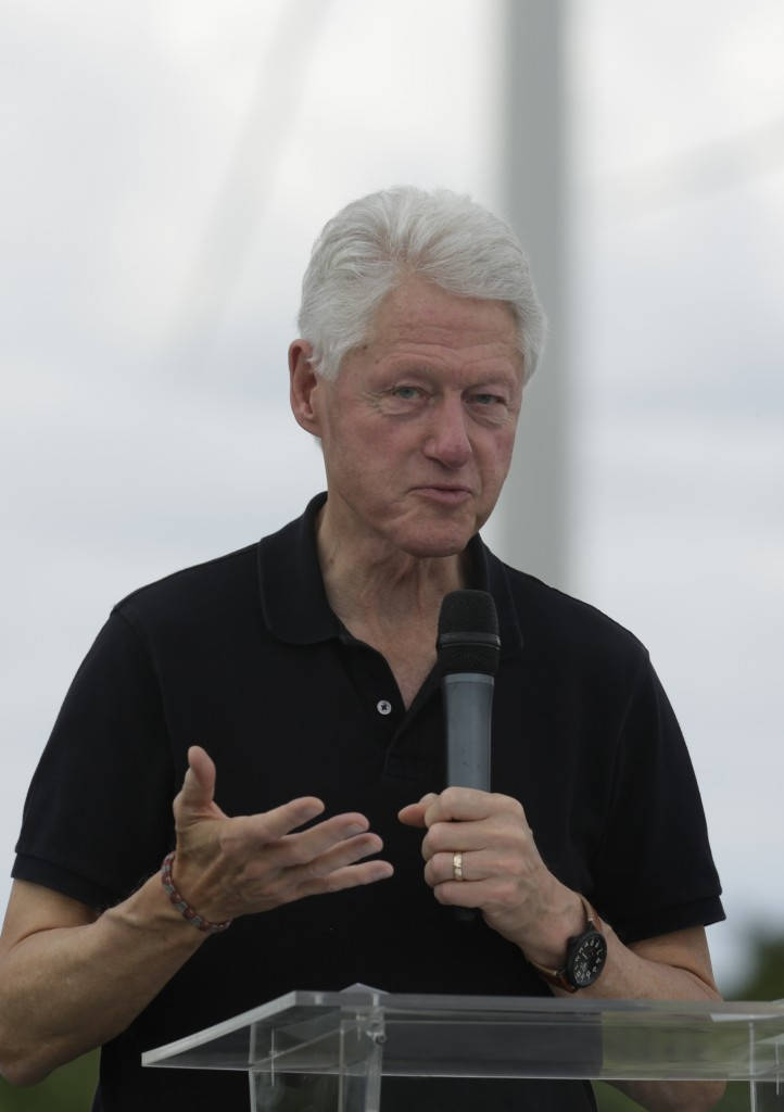 Bill Clinton, shown here speaking in Panama in November. (AP Photo/Arnulfo Franco)