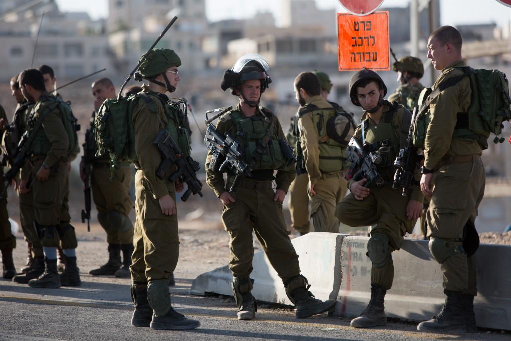 IDF soldiers. Yonatan Sindel/Flash90