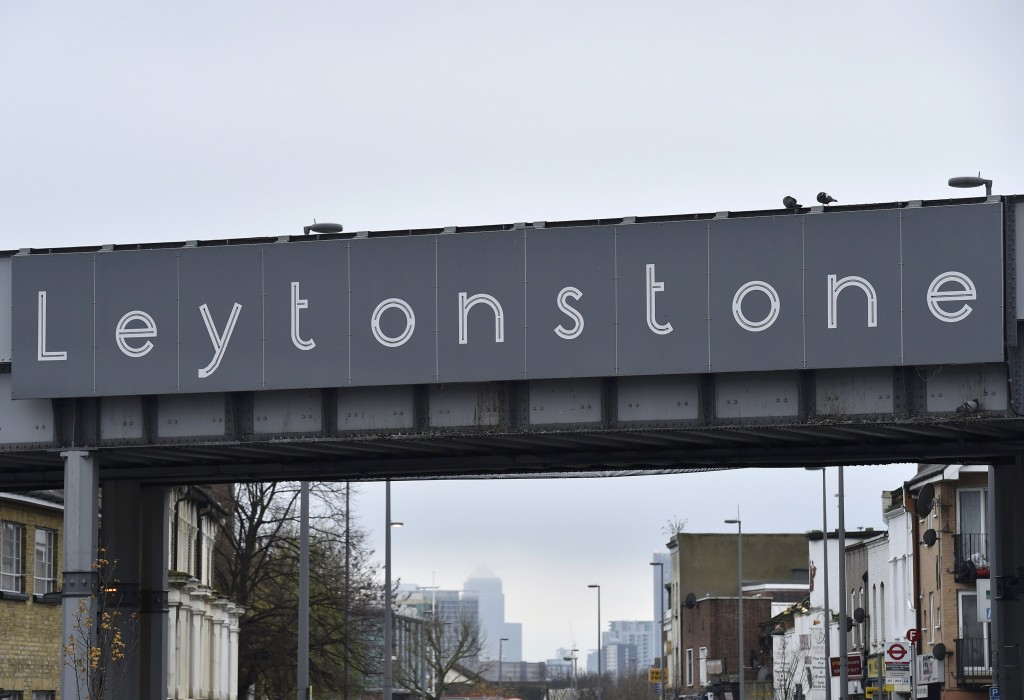 A railway bridge crosses a street in Leytonstone, east London, December 7, 2015. A 29-year-old man appeared in court on Monday after being charged by counter-terrorism officers with attempted murder in a weekend knife attack at Leytonstone underground station in east London. Wearing a grey t-shirt and grey track suit bottoms, Muhaydin Mire of east London spoke only to confirm his name, age and address at Westminster Magistrates' Court. REUTERS/Toby Melville