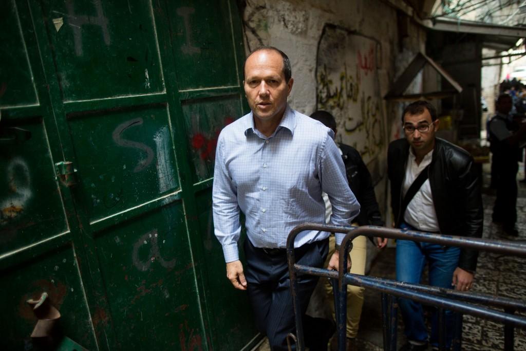 Jerusalem Mayor Nir Barkat. Photo by Yonatan Sindel/Flash90