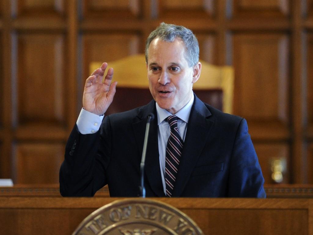 New York State Attorney Eric Schneiderman. (AP Photo/Hans Pennink, File)