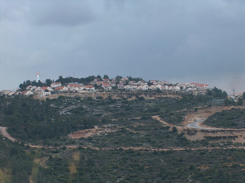 A view of Dolev in the Shomron.