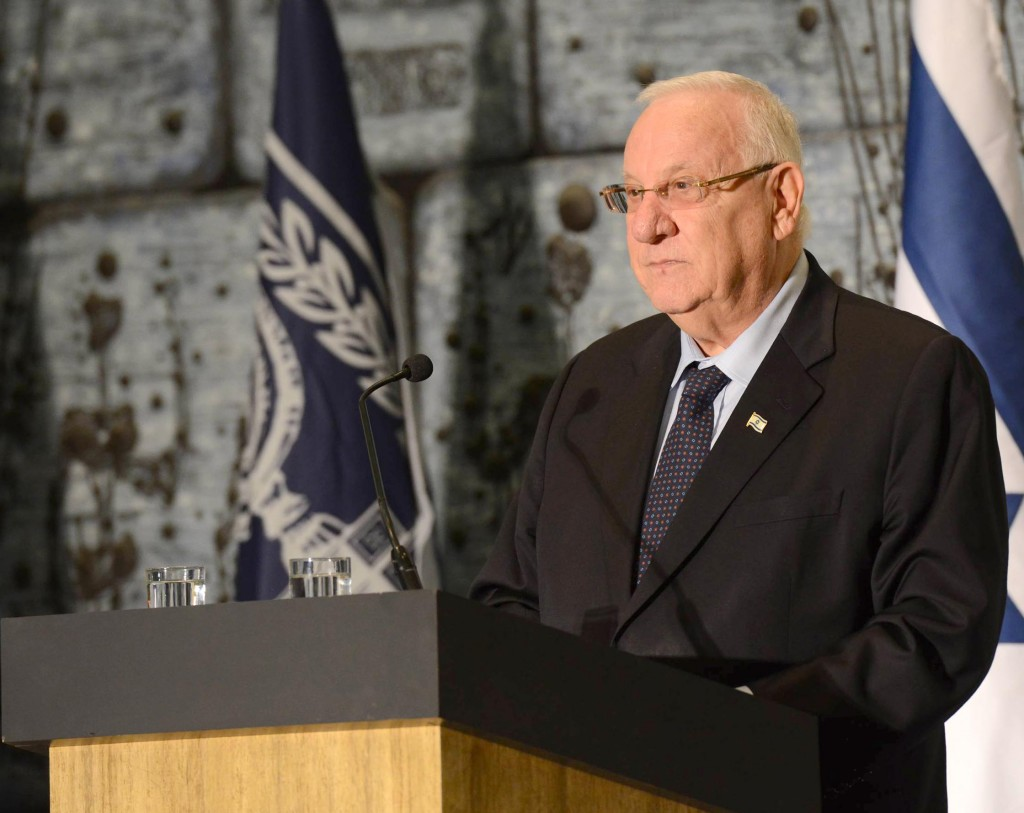 Israeli President Reuven RIvlin (Mark Neyman/GPO/Flash90)