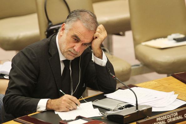 Former International Criminal Court Chief Prosecutor Luis Moreno-Ocampo. (Mario Tama/Getty Images)