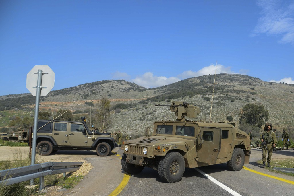 IDF troops along the Lebanese border. Photo by Basal Awidat/Flash90