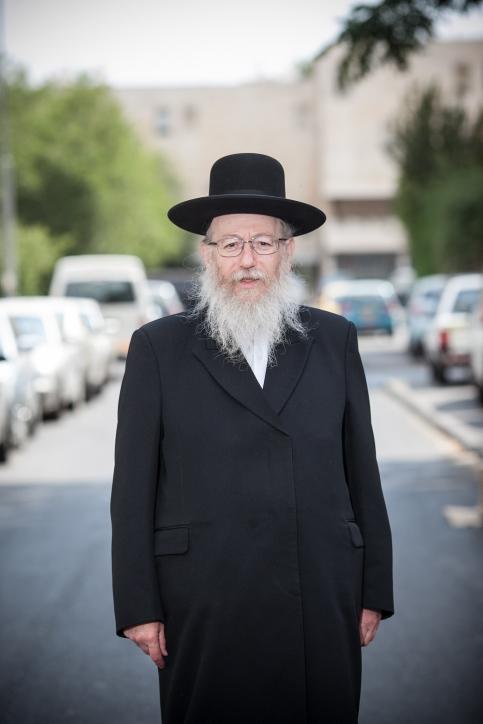 Israeli Health Minister Rabbi Yaakov Litzman.