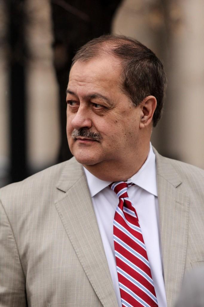 Former Massey Energy CEO Don Blankenship (AP Photo/Tyler Evert)