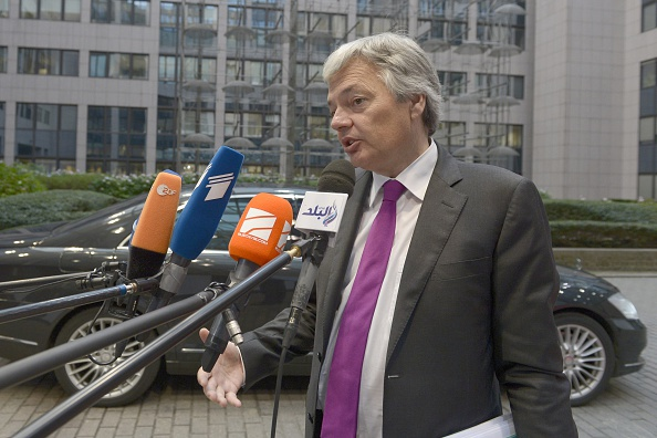 Belgian Foreign Minister Didier Reynders. (John Thys/AFP/Getty Images)