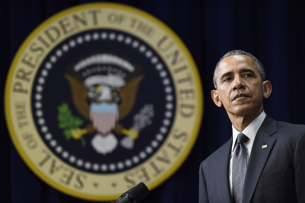 """President Obama speaks before signing the """"Every Student Succeeds Act"""" on Thursday. (AP Photo/Susan Walsh)"""