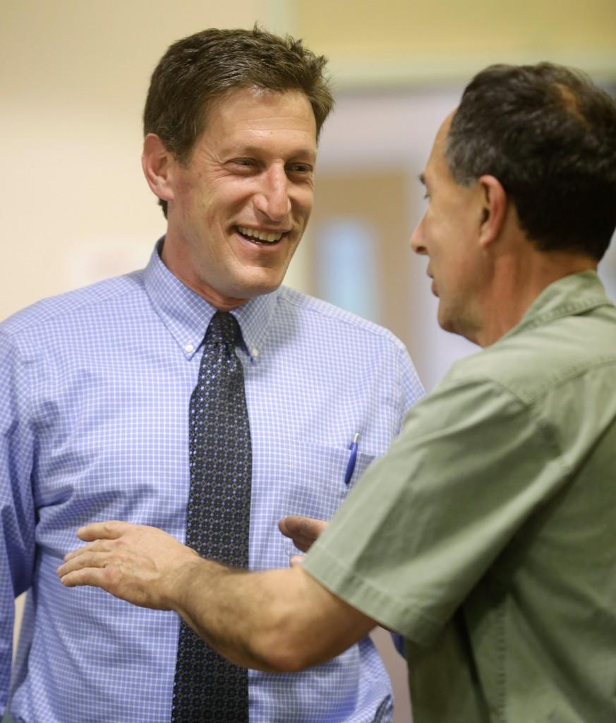 Assemblyman-elect Andrew Zwicker. (AP Photo/Mel Evans, File)