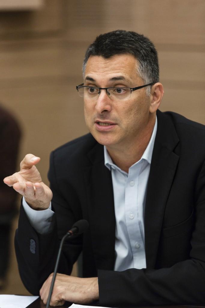 Former Interior Minister Gideon Saar (Likud), still out of politics. (Flash 90)