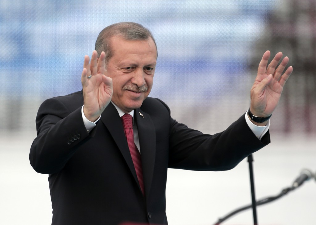 Turkey's President Recep Tayyip Erdogan. (AP Photo/Lefteris Pitarakis, File)