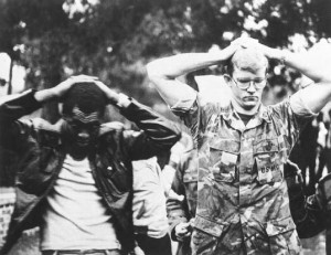 Two American hostages (Wikipedia)