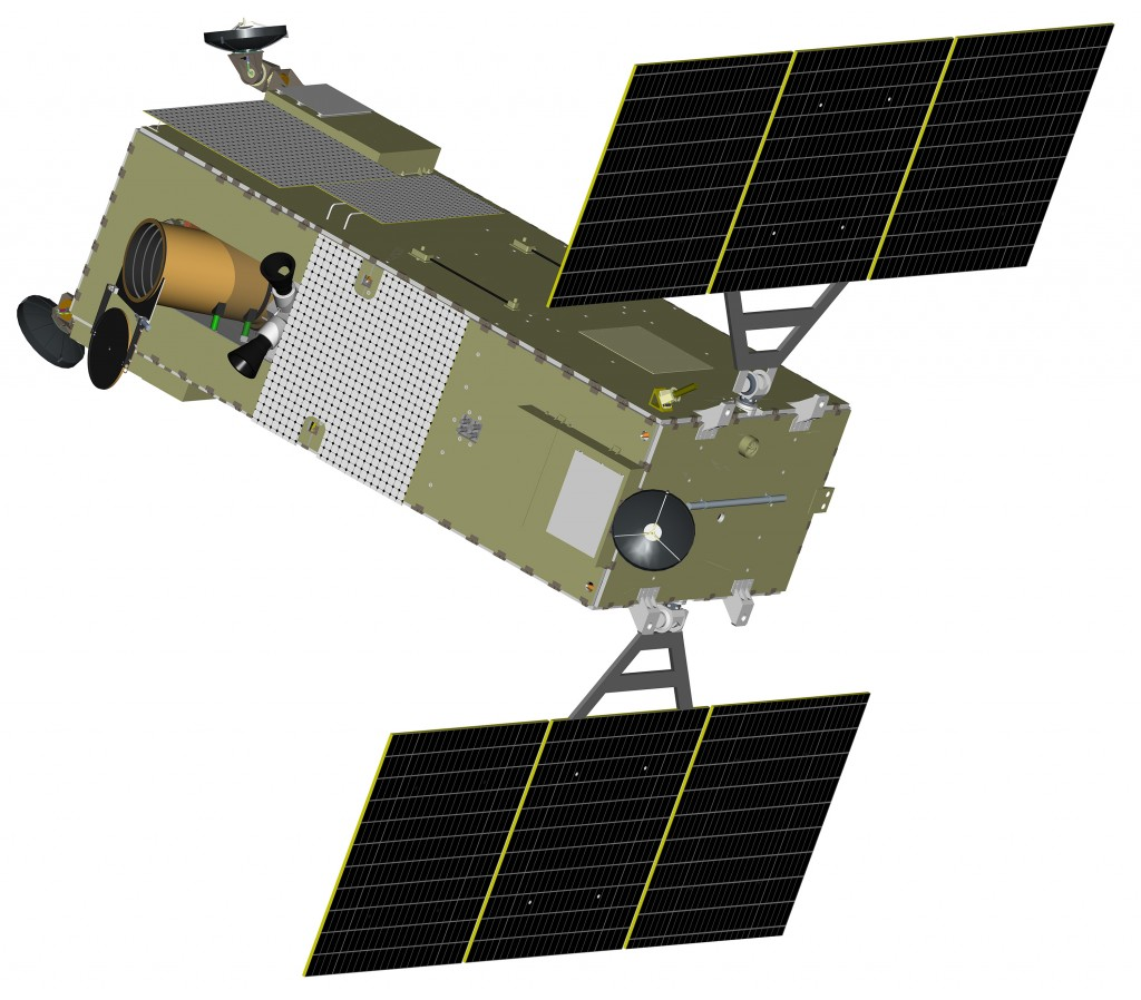 This illustration shows the Precision Tracking Space System (PTSS). (U.S. Missile Defense Agency)