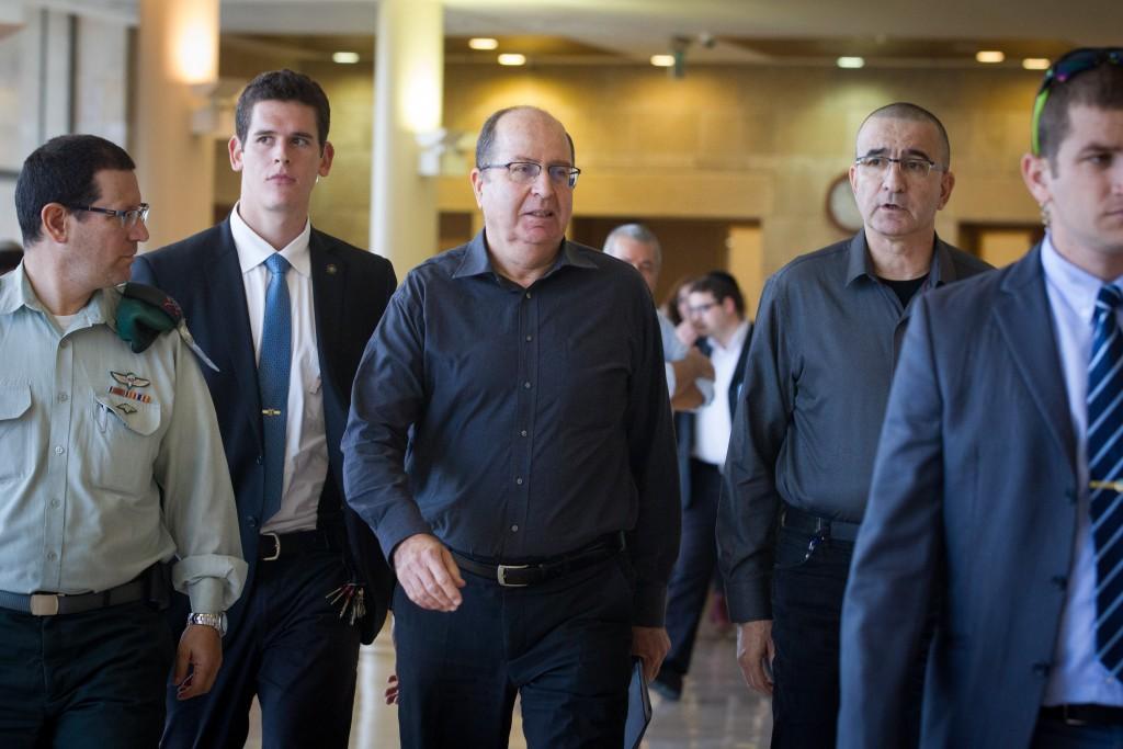 Israeli Minister of Defense Moshe Yaalon. (Miriam Alster/FLASH90)