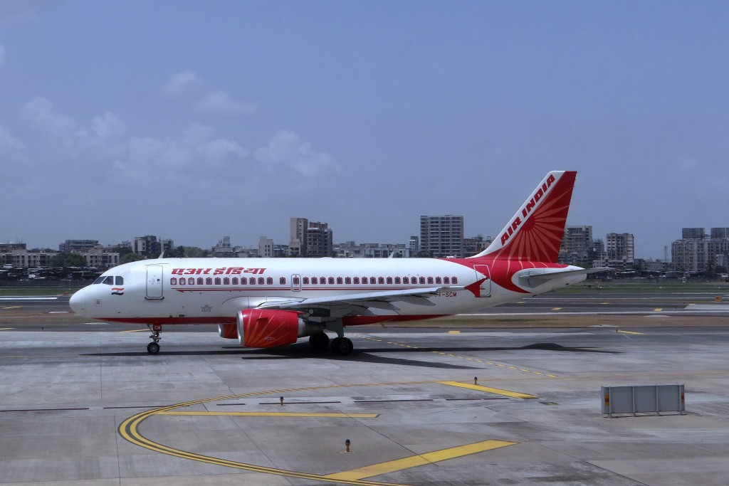 An Air India plane. Airport and airline authorities in India on Thursday, Dec. 17, 2015 began investigating the death of a technician who was sucked into an aircraft engine at an airport in Mumbai.(Pixabay)