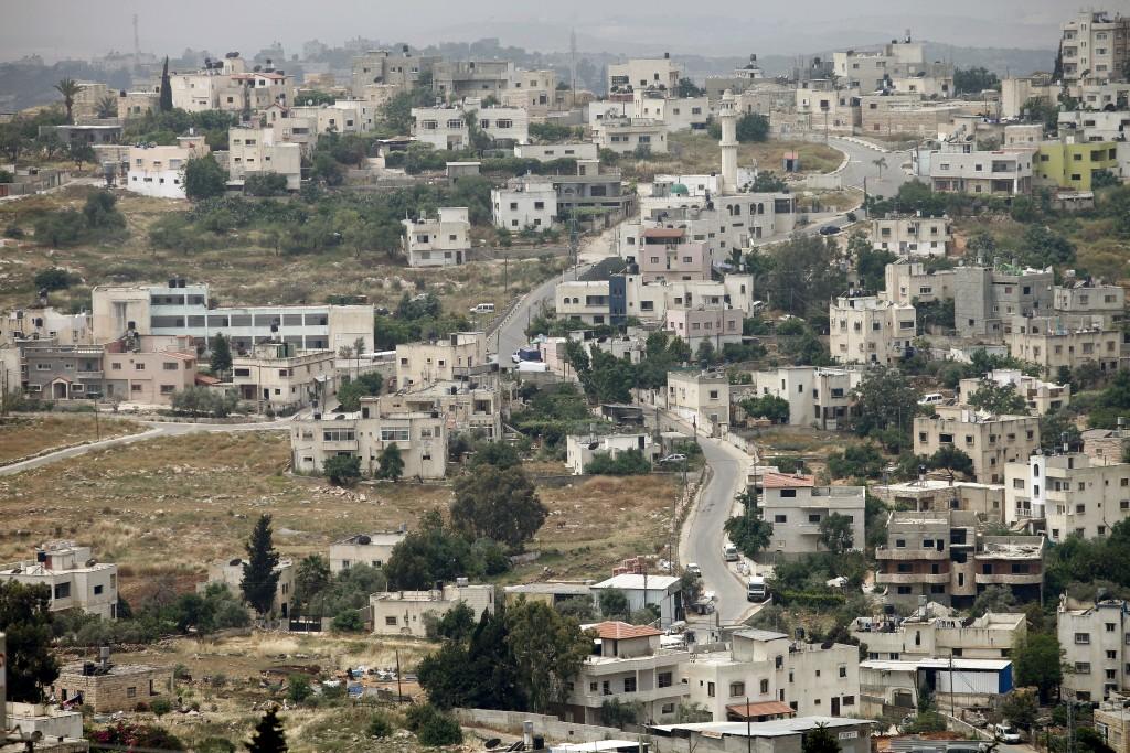 View of Luban. Photo by Moshe Shai/FLASH90