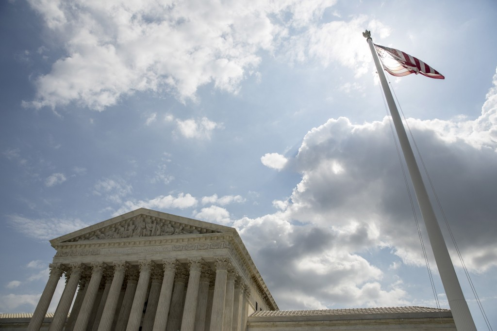 The U.S. Supreme Court   building in Washington. (Reuters/Joshua Roberts/File)