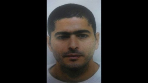 Nashat Melhem, in an image released by Israeli police during the manhunt.