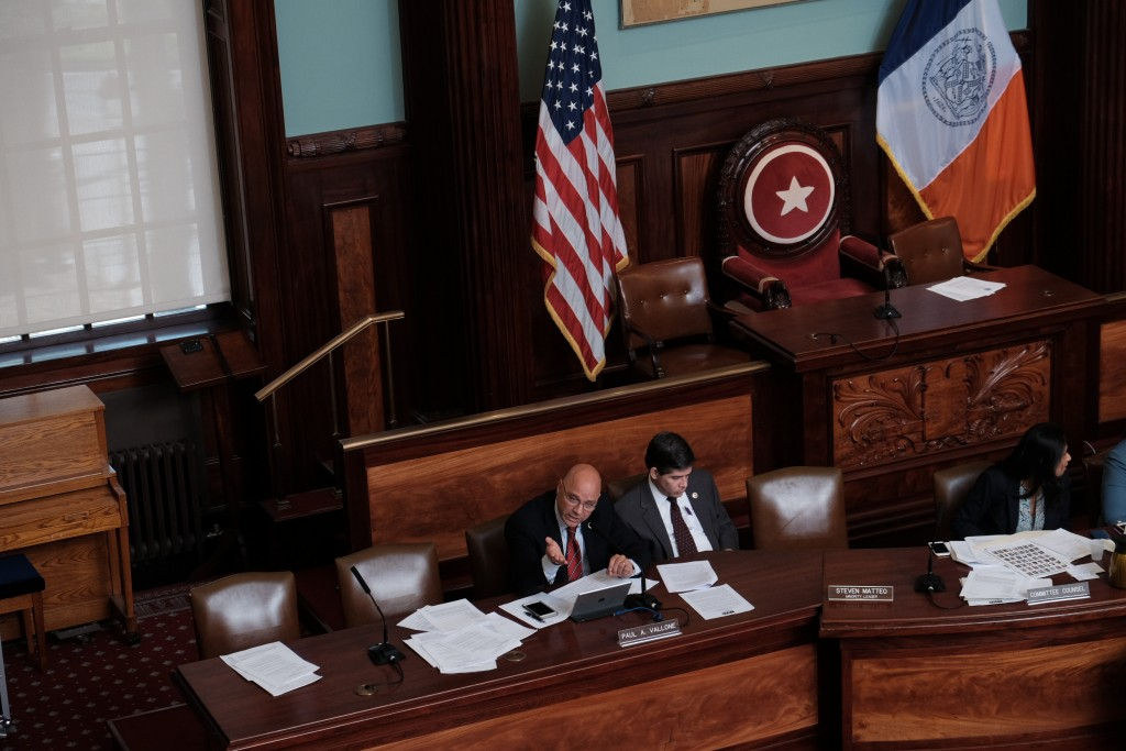 NYC Council Holds Hearing (William Alatriste/New York City Council)