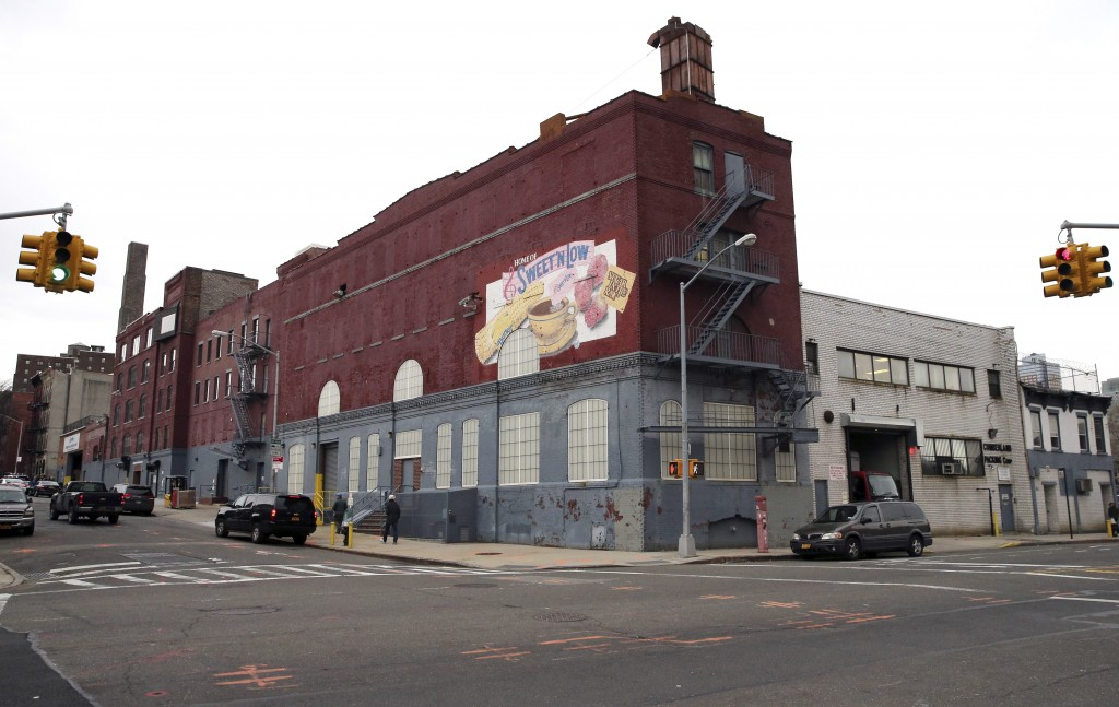 The Cumberland Packing Corp. headquarters in Brooklyn. (AP Photo/Mary Altaffer)