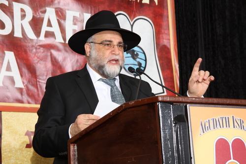 Rebbi Dovid Ozeri (Agudath Israel of America)