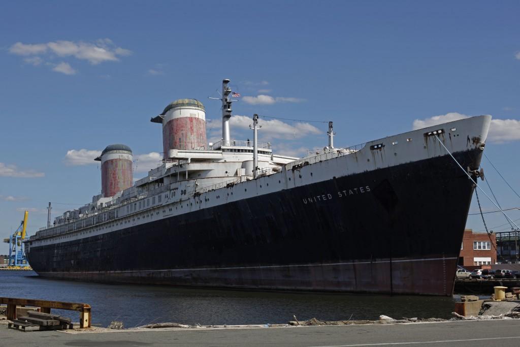The SS United States. (AP Photo/Matt Rourke, File)