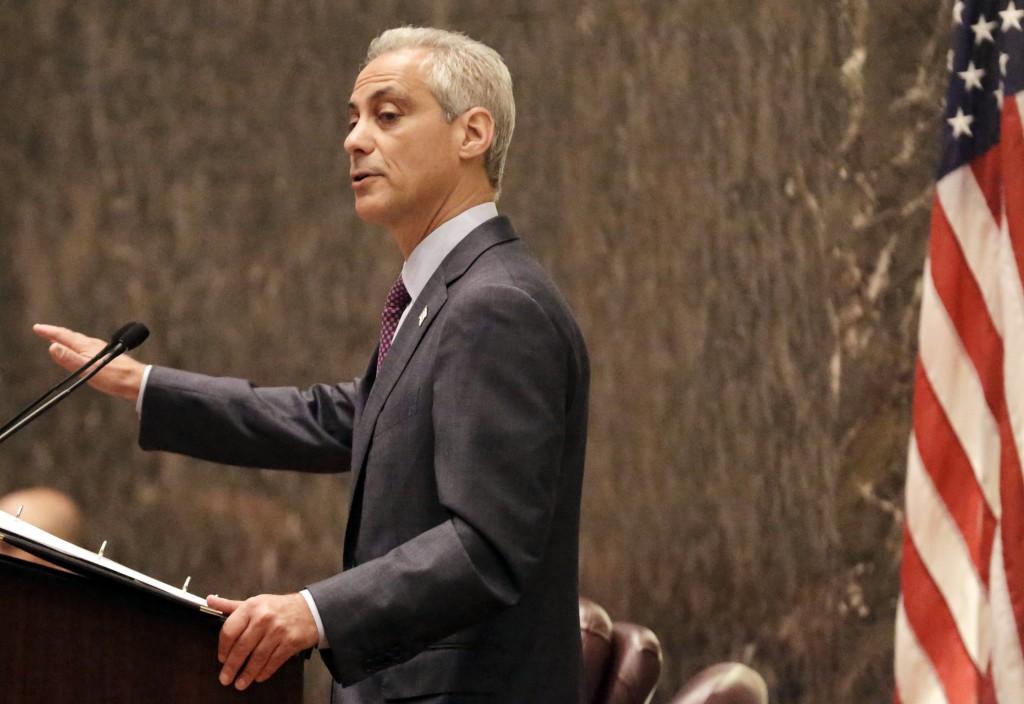 Chicago Mayor Rahm Emanuel (AP Photo/M. Spencer Green, File)