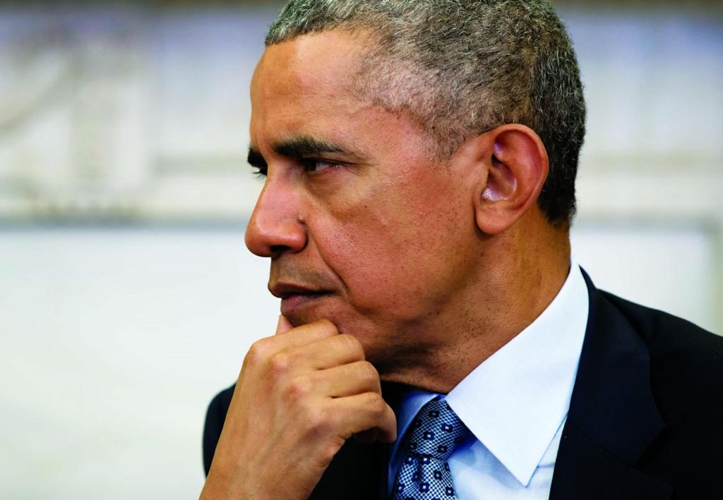 President Barack Obama in the White House in Washington, Tuesday. (AP Photo/Carolyn Kaster)
