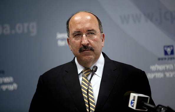 Director-General of the Ministry of Foreign Affairs Dore Gold. (THOMAS COEX/AFP/Getty Images)