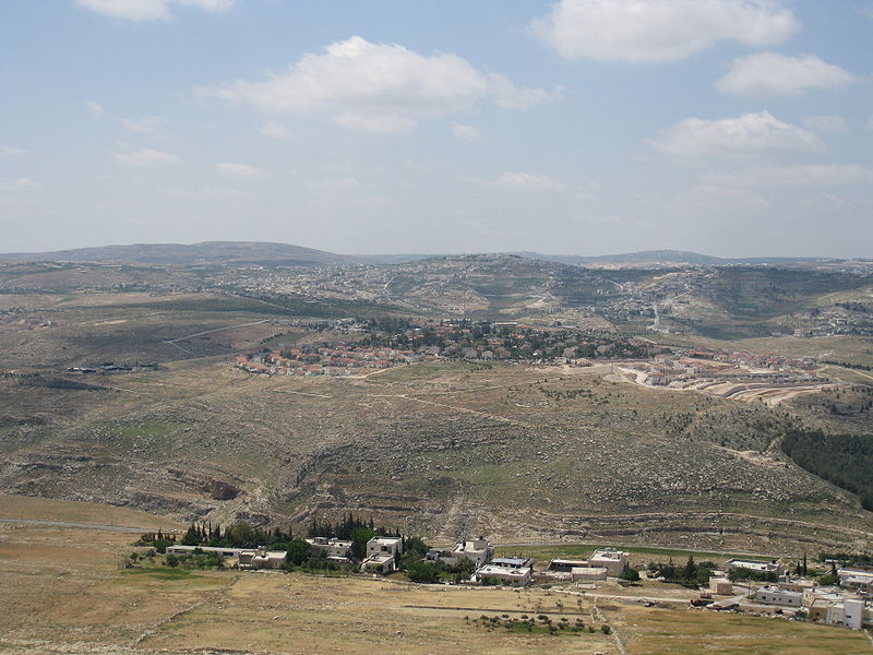 Tekoa, in the Gush Etzion Council. (Avi Deror)