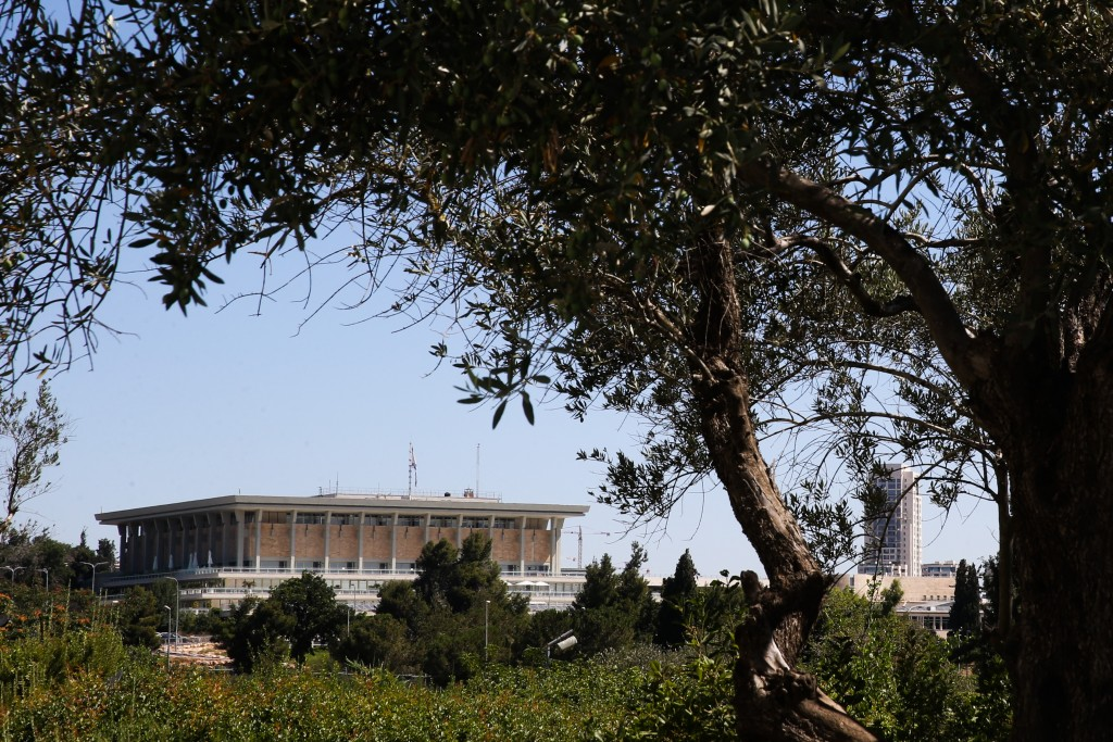 A general view of the Israeli parliament building in Jerusalem the Knesset.Wednesday July 20, 2015,. Photo by nati shohat/FLASH90
