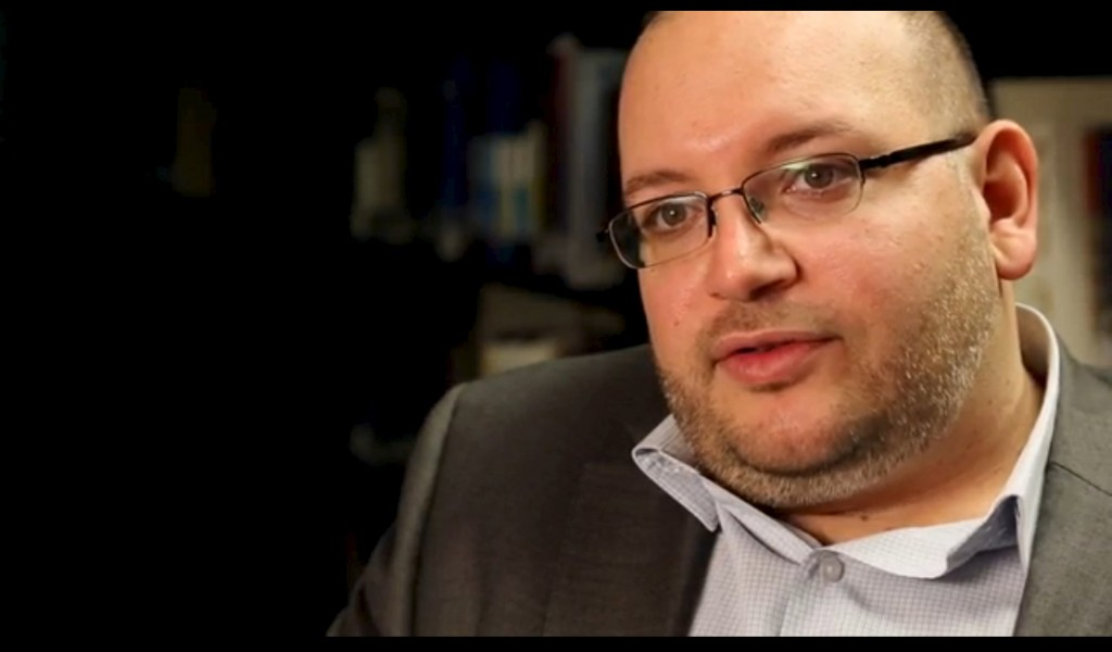 Jason Rezaian, the Washington Post's Tehran correspondent, is pictured at The Washington Post in Washington, DC in this November 6, 2013 handout photo. Rezaian was one of four American prisoners released by Iran ahead of the expected lifting of international sanctions on Iran January 16, 2016 as part of a deal between major powers and Iran to curb Tehran's nuclear program.  REUTERS/Zoeann Murphy/The Washington Post/Handout via ReutersATTENTION EDITORS - THIS PICTURE WAS PROVIDED BY A THIRD PARTY. REUTERS IS UNABLE TO INDEPENDENTLY VERIFY THE AUTHENTICITY, CONTENT, LOCATION OR DATE OF THIS IMAGE. IT IS DISTRIBUTED EXACTLY AS RECEIVED BY REUTERS, AS A SERVICE TO CLIENTS. EDITORIAL USE ONLY. NOT FOR SALE FOR MARKETING OR ADVERTISING CAMPAIGNS. NO RESALES. NO ARCHIVE.       TPX IMAGES OF THE DAY
