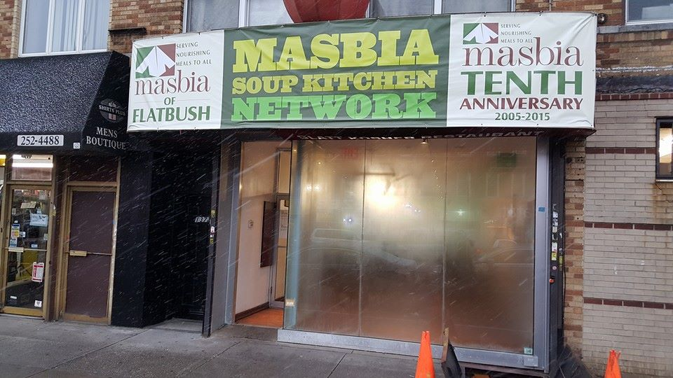 The Masbia soup kitchen on Coney Island Ave. in Midwood. (Alexander Rappaport)