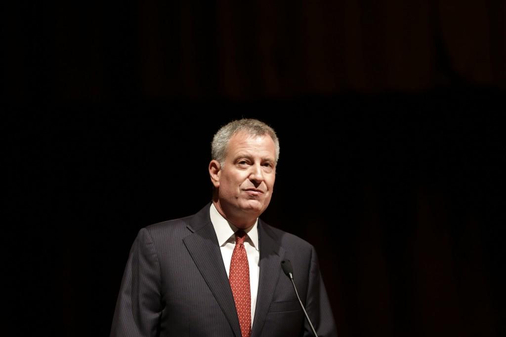 New York City Mayor Bill de Blasio (AP Photo/Seth Wenig, File)