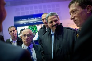 Israeli Chief of Police Roni Alsheikh seen at the Cybertech Israel Conference and Exhibition in Tel Aviv on Tuesday. (Miriam Alster/Flash90)