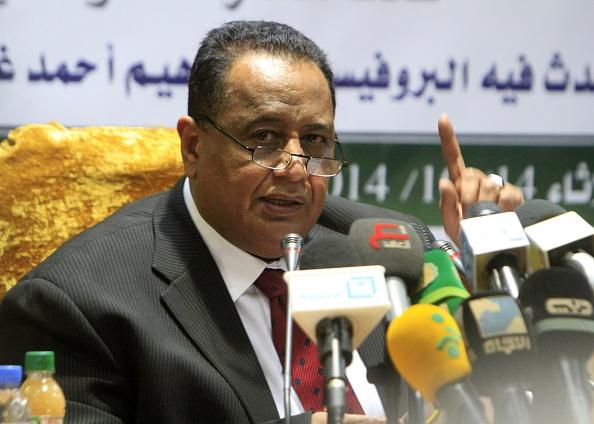 Sudanese Foreign Minister Ibrahim Ghandour. (EBRAHIM HAMID/AFP/Getty Images)