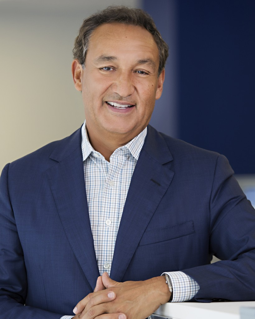 Oscar Munoz in an undated photo provided by United Airlines. (United Airlines via AP)