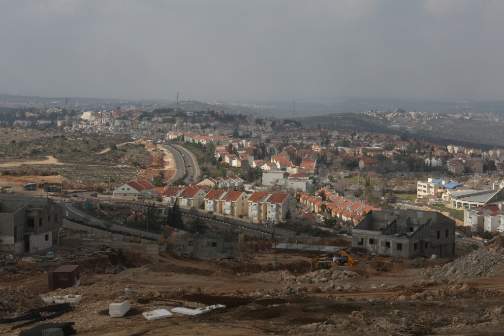 General view of the Samaria settlement of Ariel, on January 17, 2014. Photo by Flash 90.