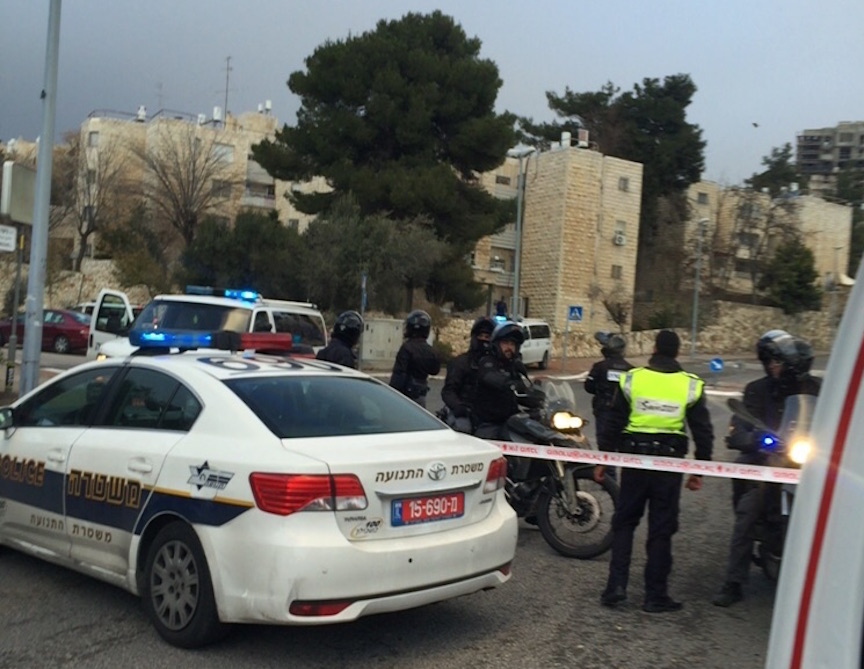 The scene of the stabbing Sunday afternoon (David Palasi)