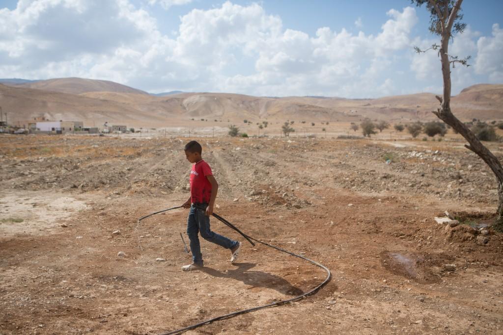 Jordan Valley farmland. Photo by Miriam Alster/FLASH90