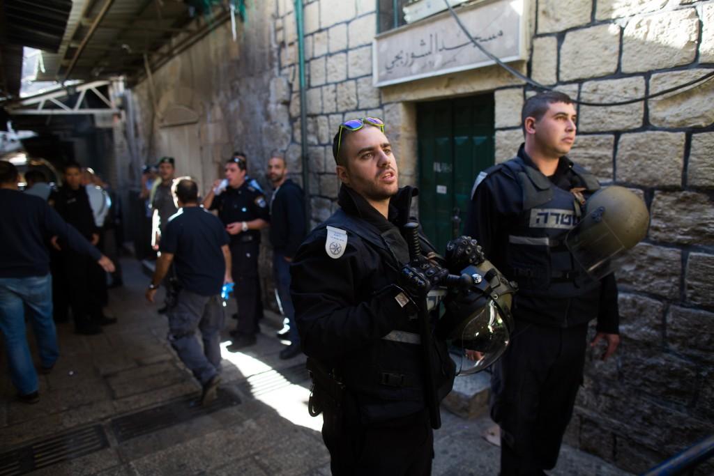 Israeli police. Yonatan Sindel/Flash90