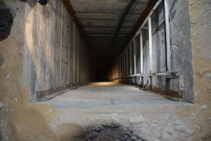 A Hamas terror tunnel. IDF Spokesperson/Flash90