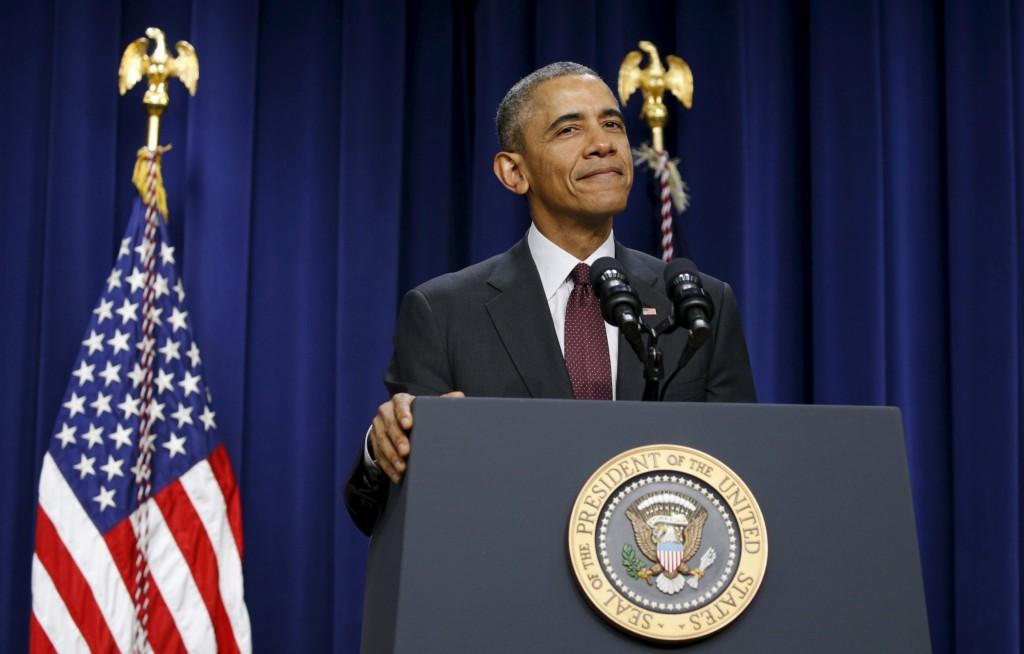 U.S. President Barack Obama. (Kevin Lamarque/Reuters)