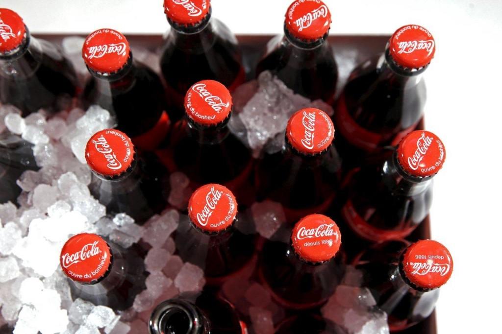 Bottles of Coca-Cola in France. (Reuters/Benoit Tessier/File)