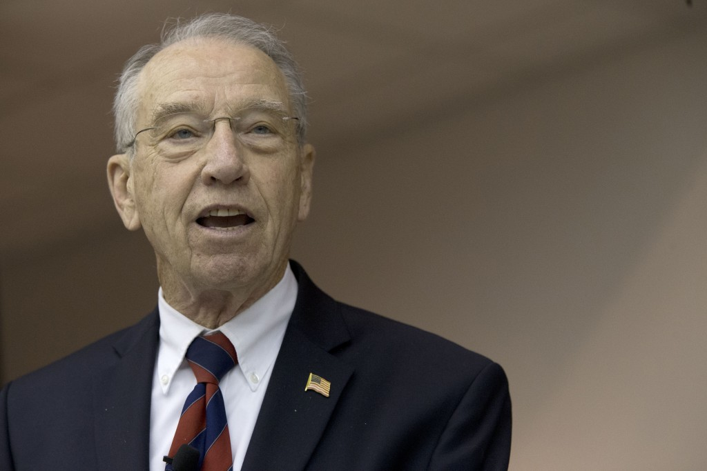 Sen. Charles Grassley, R-Iowa. (AP Photo/Mary Altaffer)